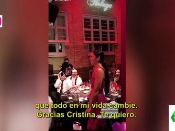 """La bonita declaración de amor de Dabiz Muñoz a una emocionada Cristina Pedroche: """"Has hecho que toda mi vida cambie"""""""