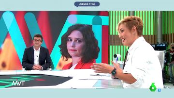 """Cristina Pardo reflexiona sobre las declaraciones de Ayuso: """"Me hace gracia que se compare con Britney Spears porque es una persona tutelada"""""""