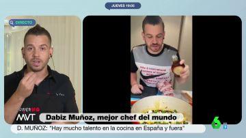 ¿Con cebolla o sin cebolla? El mejor chef del mundo, Dabiz Muñoz, desvela cómo tiene que ser la tortilla