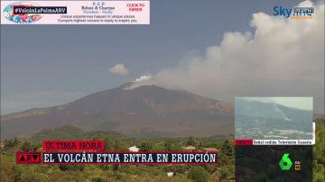 erupcion ETNA