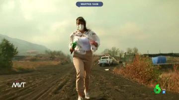 Así vivío Aurora Lozano, reportera de laSexta, el estremecedor rugido del volcán de La Palma