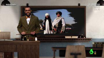 """Dani Mateo repasa el caso de Afganistán, """"el país que nadie es capaz de conquistar"""", en 'Invasiones que salen mal'"""