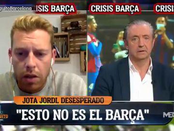 """""""Koeman no va a continuar en el Barça"""": Jota Jordi desvela la lista de posibles sustitutos"""