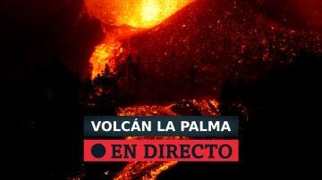 Evolución de la erupción del volcán de La Palma por Todoque y la llegada de la lava al mar, en directo