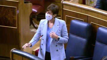 La ministra portavoz Isabel Rodríguez