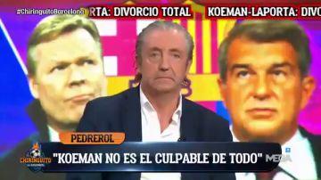 Pedrerol desvela cuál es el entrenador que quiere para el FC Barcelona si se va Koeman