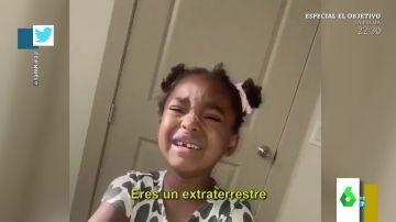 Vídeo viral niña