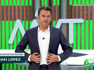 Los gritos de Josie a Iñaki López fuera de cámaras en pleno directo de Zapeando