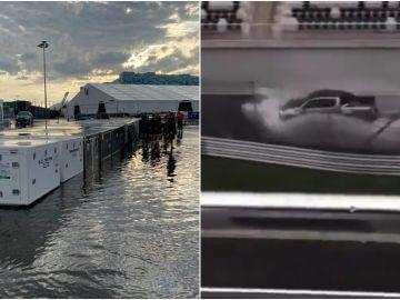 Alarma en Sochi antes del GP de Rusia: se inunda el paddock... y el fantasma de Spa aparece