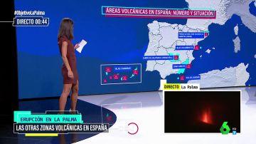 Las seis zonas volcánicas de España hacia las que los expertos miran con mucha atención