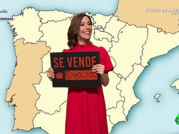 """""""'Pedro -rompepatrias- Sáanchez' quiere convertir el país entero en un pueblo de Lleida"""", destaca Cristina Gallego en este irónico análisis sobre la mesa de diálogo, algo que, afirma, busca """"vender España""""."""
