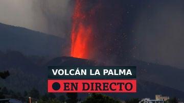 Seguimiento de la erupción del volcán de La Palma y avance de la lava al mar, directo