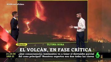 ¿Qué consecuencias puede tener la ruptura del cono volcánico en La Palma? Un experto da las claves