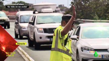 Un equipo de laSexta Noche es testigo de la evacuación inmediata de los vecinos de Tajuya en La Palma