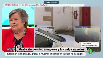 La crítica de Cristina Almeida a la sentencia sobre las mujeres grabadas orinando