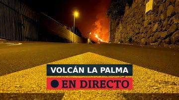 Erupción en La Palma desde el cráter principal del volcán del Cumbre Vieja, última hora en directo