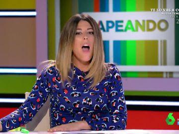 La reacción de Valeria Ros cuando le dicen en pleno directo que vuelve a estar embarazada