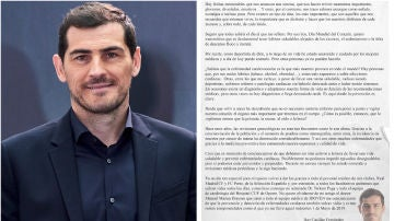 """El concienciador mensaje de Iker Casillas en el Día Mundial del Corazón: """"La prevención es clave"""""""