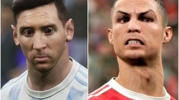 Messi y Cristiano, en eFootball 2022