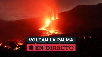 Erupcion del volcán de La Palma en Cumbre Vieja