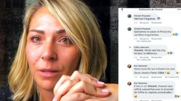 Meritxell Falgueras comparte los mensajes de acoso que ha recibido