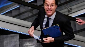 El primer ministro neerlandés, Mark Rutte