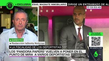 """La crítica de Josep Pedrerol tras los Pandora Papers y Guardiola: """"Se mira para otro lado"""""""