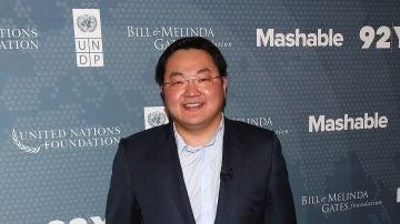 El empresario malayo Jho Low en un evento en 2014