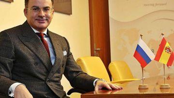 Pedro Mouriño, cónsul honorario de la Federación de Rusia