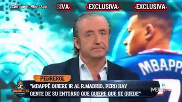 """Así ve Pedrerol el fichaje de Mbappé por el Real Madrid: """"Yo pensaba que iba a ser fácil, pero..."""""""