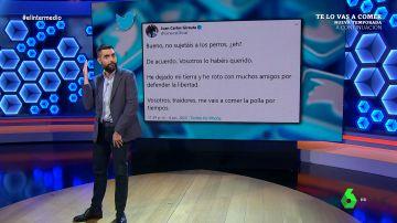 La hemeroteca no perdona: así hablaba Girauta del PP en algunos de sus 39.000 tuits borrados