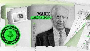 Vargas Llosa aparece en los Pandora Papers