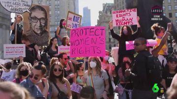 """""""El aborto es asistencia sanitaria"""": la lucha por los derechos de las mujeres sale a las calles de EEUU"""