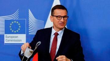Mateusz Morawiecki, primer ministro de Polonia, en una fotografía de archivo.