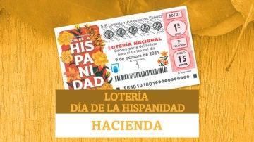 Lotería Nacional del Día de la Hispanidad: ¿qué parte del premio se queda Hacienda?