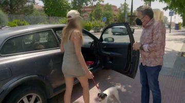 """Alberto Chicote pilla in fraganti a una mujer vendiendo comida casera de forma ilegal: """"¡¿Vienes con un perro en el coche?!"""""""