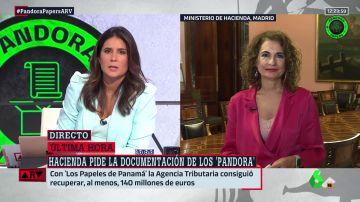 """Montero, sobre la investigación de los Pandora Papers: """"Si se han producido desfalcos, que paguen y cumplan con las sanciones"""""""