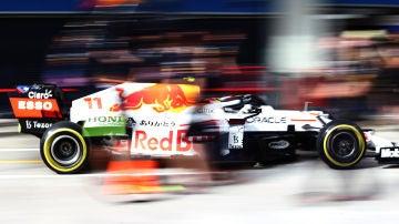Red Bull rinde homenaje a Honda en Turquía