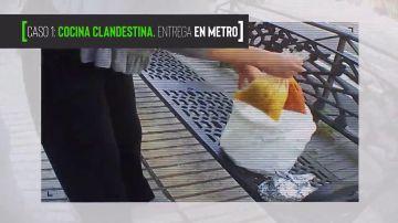 """Las imágenes de cámara oculta que desvelan la venta ilegal de """"comida casera"""" en Te lo vas a comer"""