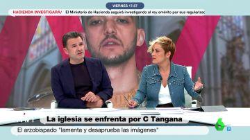 """La respuesta de Iñaki López a la reacción de la Iglesia por el vídeo de C. Tangana y Nathy Peluso: """"Me gustaría una condena tan tajante con los casos de abuso"""""""
