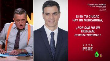 """La respuesta de Wyoming a Ayuso tras decir que Sánchez quiere destrozar Madrid: """"A ella lo que le gusta es privatizar las instituciones"""""""