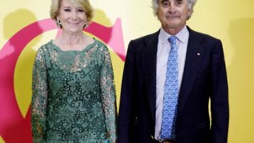 Esperanza Aguirre y su marido, Fernando Ramírez de Haro