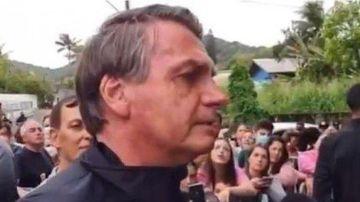 Bolsonaro, vetado del Santos-Gremio