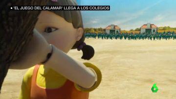 Alerta en los colegios por 'El juego del calamar': los niños ya imitan la violencia y juegan a imitar las pruebas