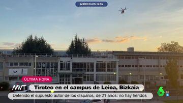 """""""No voy a por las personas, voy a por la facultad"""": así fueron las palabras del autor del tiroteo en Leioa según testigos"""