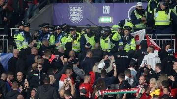 Incidentes en el Inglaterra - Hungría