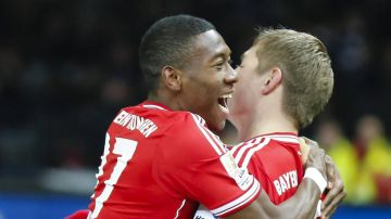Alaba y Kroos, en el Bayern de Múnich