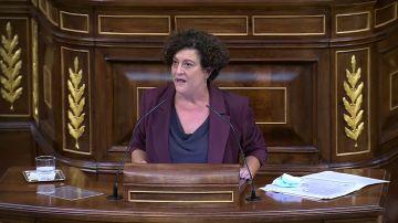 """Pilar Vallugera (ERC): """"Una diputada ha sido violada y no lo ha denunciado porque no la creerían"""""""