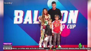 Familia de Piqué y Shakira