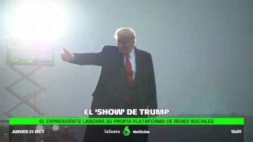 red social Trump